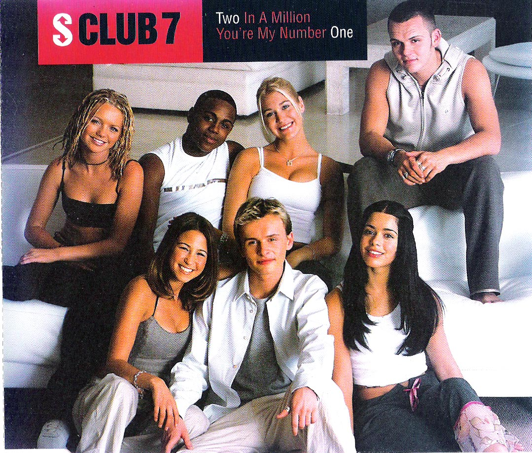 S Club 7 -Two In A Million-You´re my number one(CD1-předek)